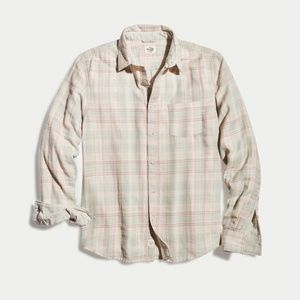 Marine Layer Turk Button Down Cream